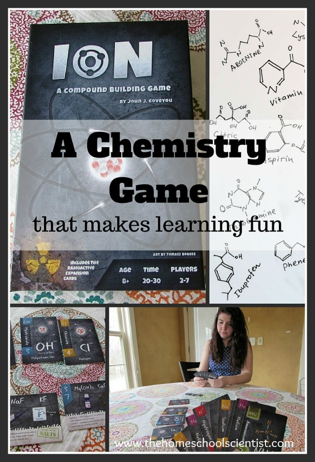 A Chemistry Game that makes learning fun - The Homeschool Scientist