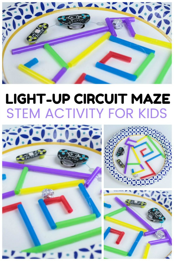 circuit maze stem activity - homeschool science