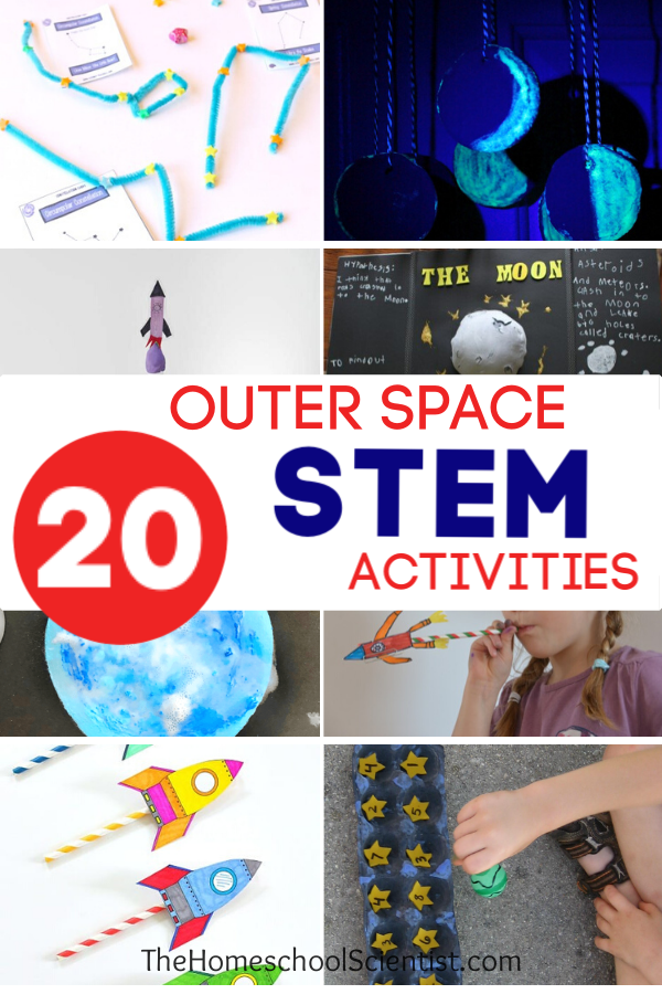 outer space STEM activities